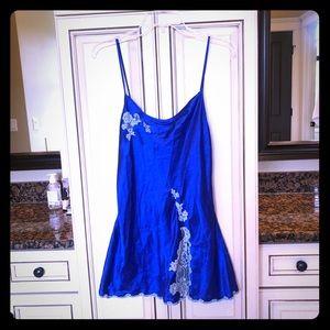 Blue Victoria's Secret lingerie M
